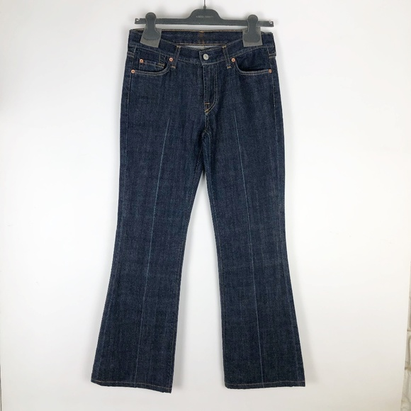7 For All Mankind Denim - 7 For All Mankind Womens 29 Jeans Flare Blue